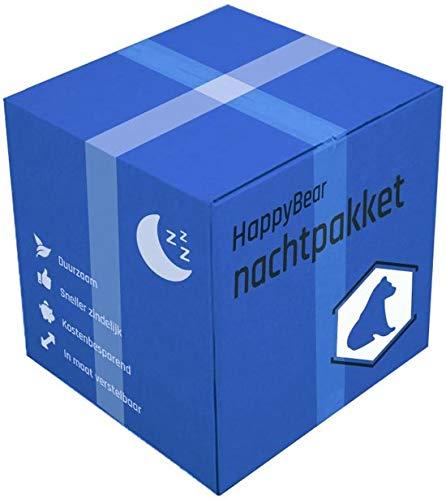 Nachtpaket mit waschbaren Windeln HappyBear | Nachtwindeln | Bambuswindeln | Windelhose | Paket waschbarer Windeln Mehrwegwindeln | 5-17kg